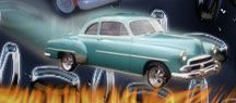 1952 Chevy, customs and street rods