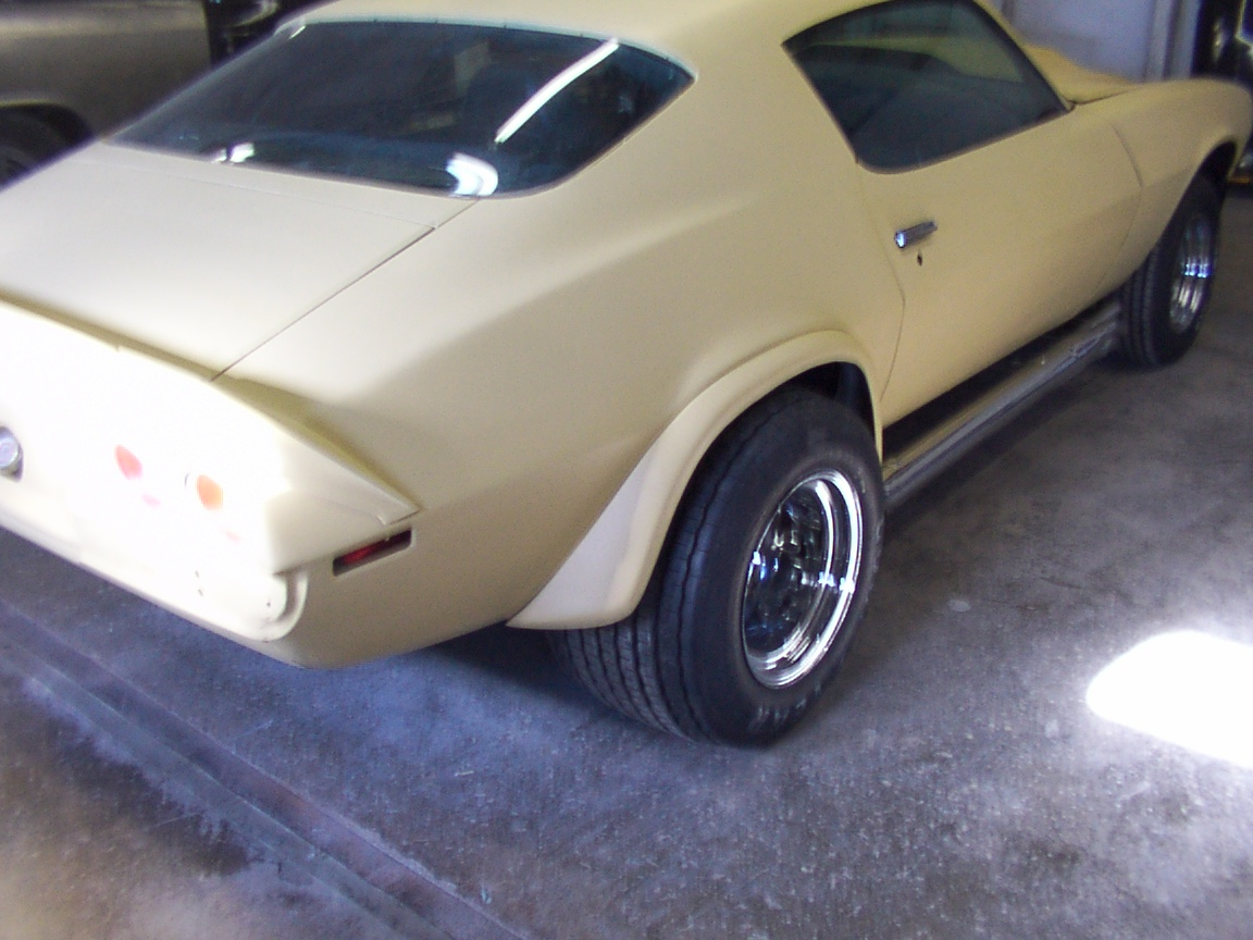 Vintage Transam Wide Steel Fenders 1970 Camaro Team