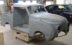 1946 Crosley Pick up Custom, 13B-REW Rotary Engine, MII suspension, Custom Chassis