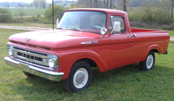 1961 ford f-100 uni-body complete restoration