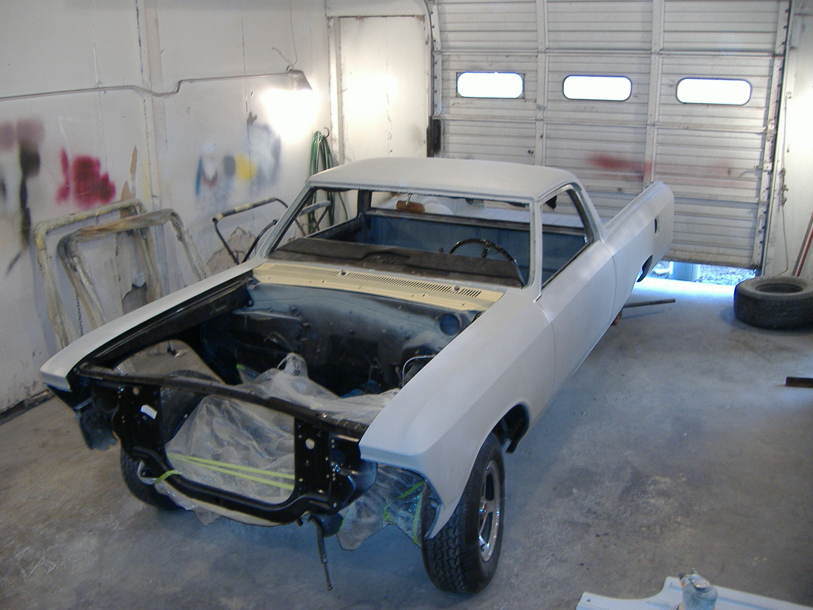1966 El Camino Body Work