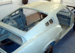 1968 Ford Mustang Fastback restoration rust repair