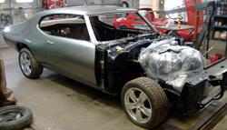 1969 Pontiac GTO LS2 conversion from 2006 GTO