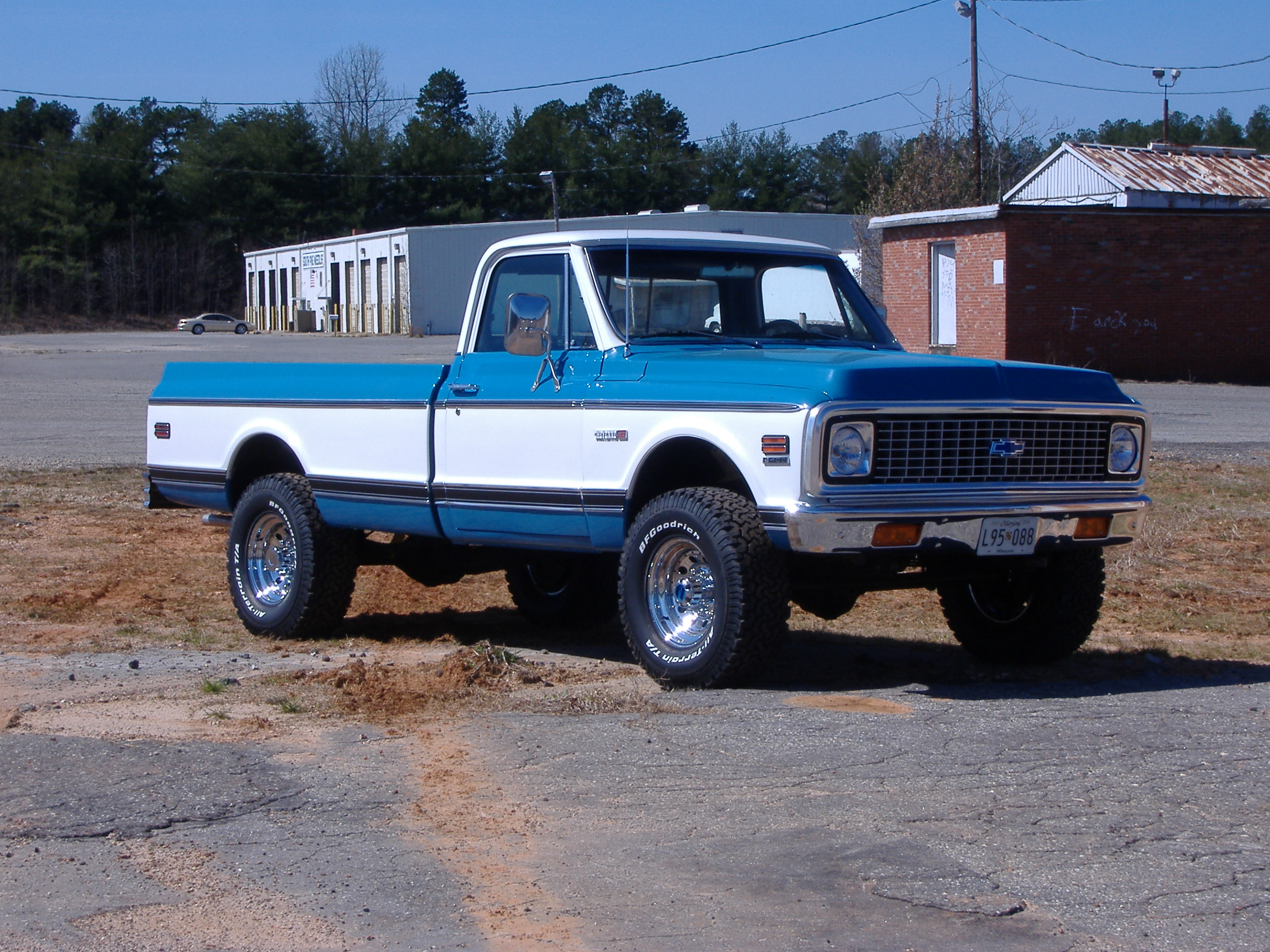 1972 CHEVROLET C20 PICKUP Parts and Accessories  Free