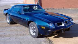 1975 Pontiac Trans-Am Original owner complete restoration 455SD