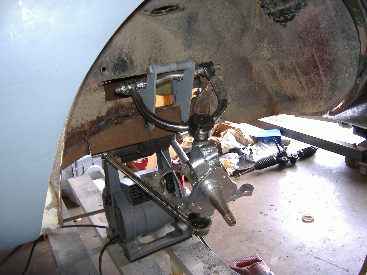 Index Of Pictures Opel Gt Fabrication Front Suspension