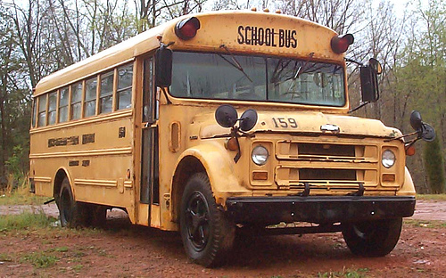 1970 Chevy School Bus
